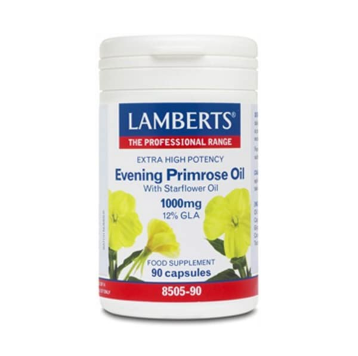 Lamberts Evening Primrose Oil with Starflower Oil 1000mg QTY 90 Capsules Amazon co uk Health Personal Care Favourites