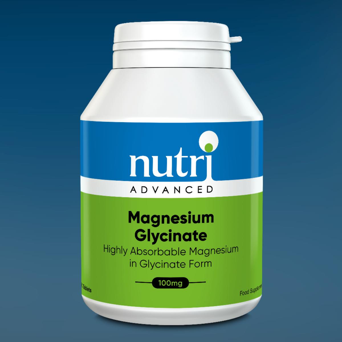 Nutri Advanced High Strength Magnesium Glycinate Tablets Nutri Advanced Favourites