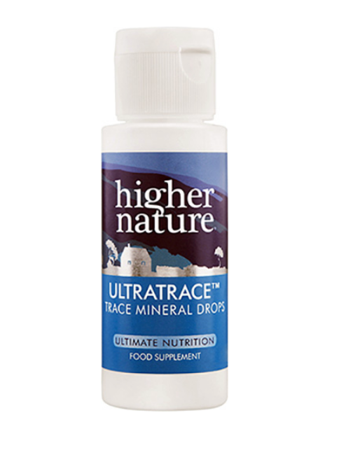 Ultratrace Trace Mineral Drops Higher Nature Favourites